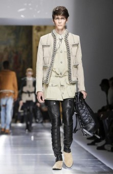BALMAIN MENSWEAR SPRING SUMMER 2018 PARIS10