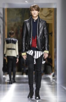 BALMAIN MENSWEAR SPRING SUMMER 2018 PARIS57