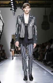 BALMAIN MENSWEAR SPRING SUMMER 2018 PARIS70