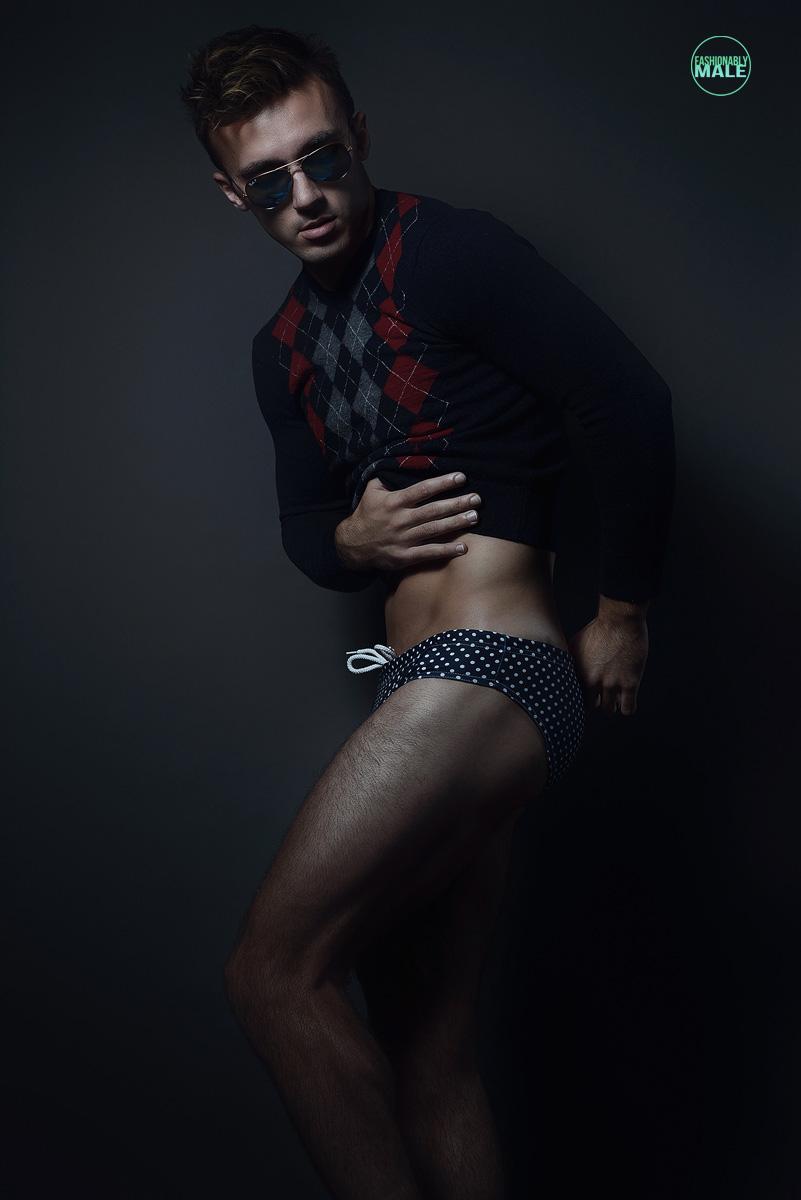 Bradley B. by Armando Adajar for Fashionably Male5