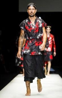 EMPORIO ARMANI MENSWEAR SPRING SUMMER 2018 MILAN3