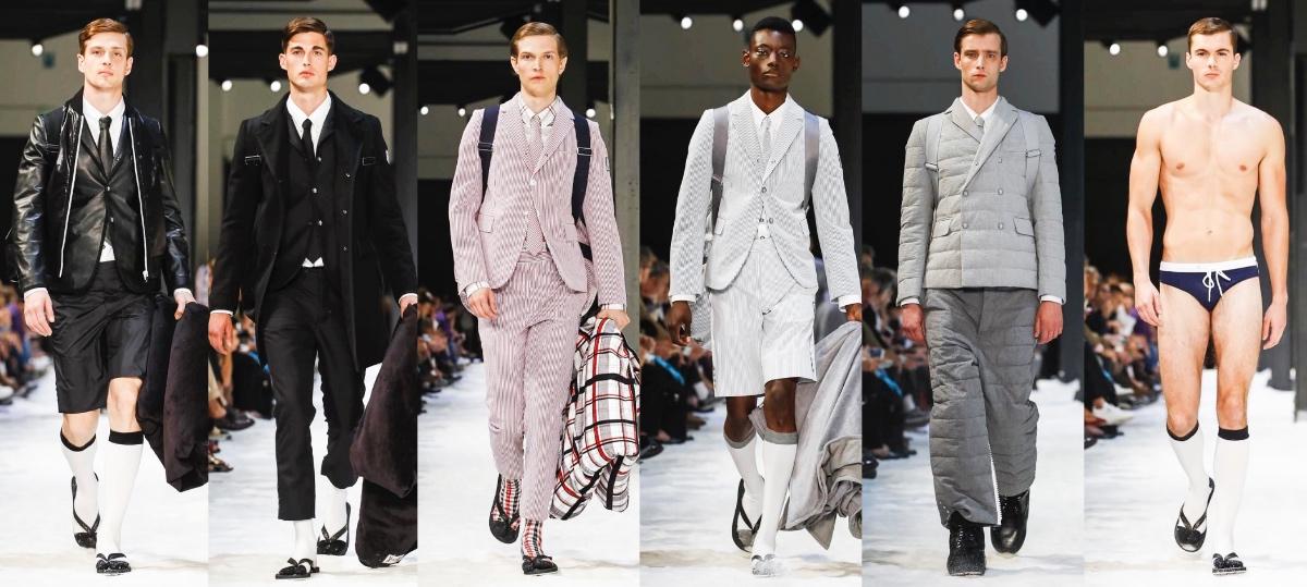 42bb3255c9 Moncler Gamme Bleu Spring/Summer 2018 Milan - Fashionably Male