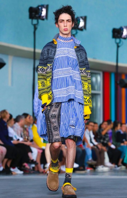 SACAI MENSWEAR SPRING SUMMER 2018 PARIS38