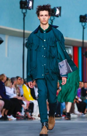 SACAI MENSWEAR SPRING SUMMER 2018 PARIS6