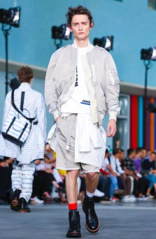 SACAI MENSWEAR SPRING SUMMER 2018 PARIS8