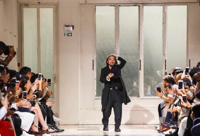 YOHJI YAMAMOTO MENSWEAR SPRING SUMMER 2018 PARIS1