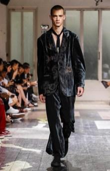 YOHJI YAMAMOTO MENSWEAR SPRING SUMMER 2018 PARIS16