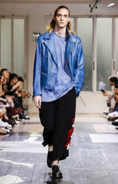 YOHJI YAMAMOTO MENSWEAR SPRING SUMMER 2018 PARIS17