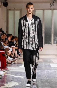 YOHJI YAMAMOTO MENSWEAR SPRING SUMMER 2018 PARIS31