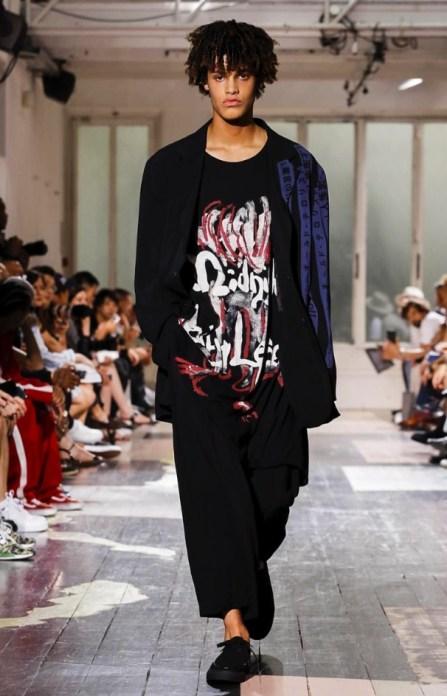 YOHJI YAMAMOTO MENSWEAR SPRING SUMMER 2018 PARIS39