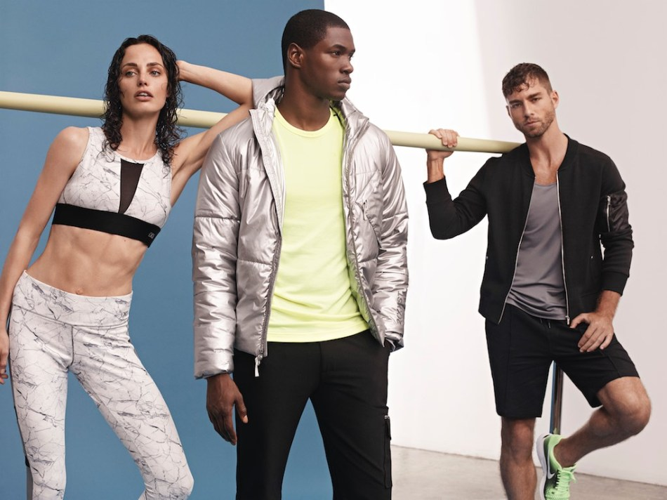 Andre Ziehe and Ronald Epps for 2XIST AW17 Campaign2