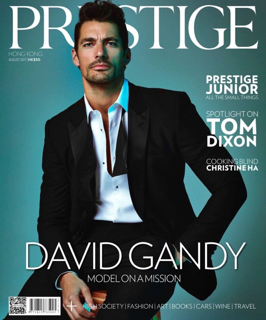 David Gandy Cover Prestige HK