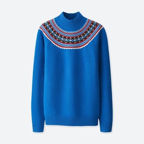 JWA Fair Isle Crew Long-Sleeve Sweater $39.90