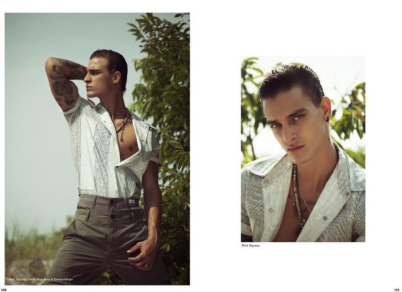 Jonathan Bellini on the cover Mandrawn Magazine| September 20177