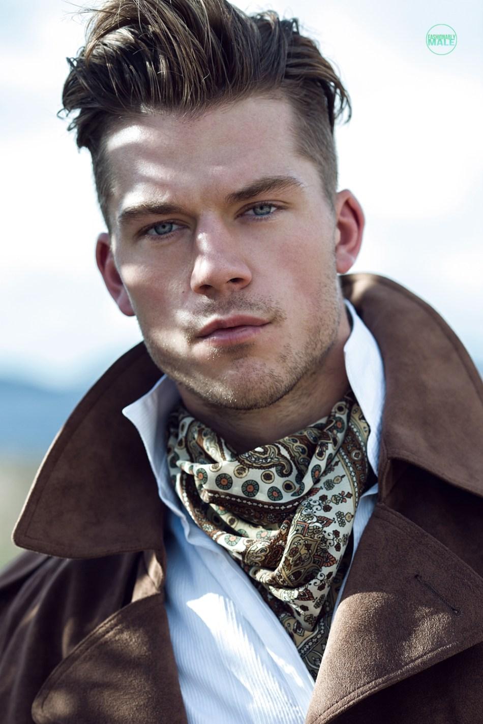 Kaz van der Waard by Ivan Avila for Fashionably Male8