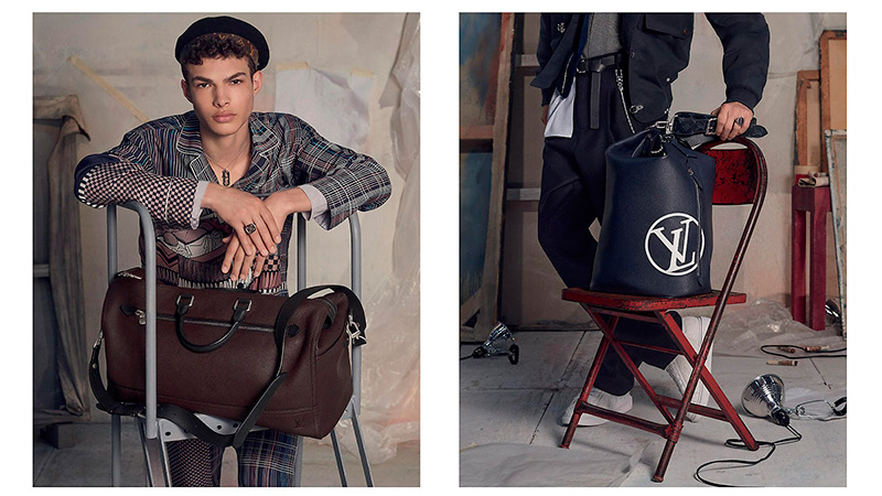 Louis Vuitton AW17 Campaign by Steven Meisel5