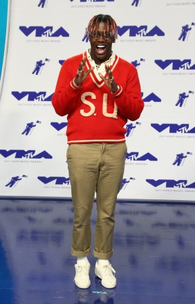 Rapper Lil Yatchy attends the 2017 MTV Video Music Awards at The Forum on August 27, 2017 in Inglewood, California.