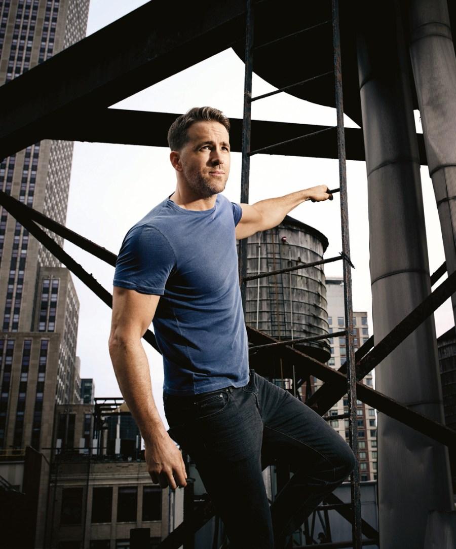Ryan Reynolds for Men's Health UK September 2017 Issue4