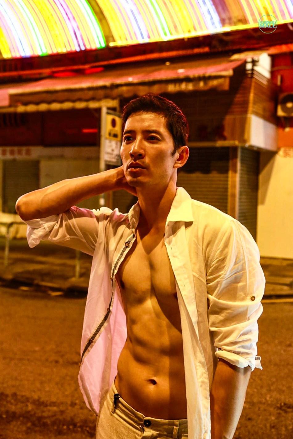The Night Watchman Richie Kul by Wendy Loke for Fashionably Male14