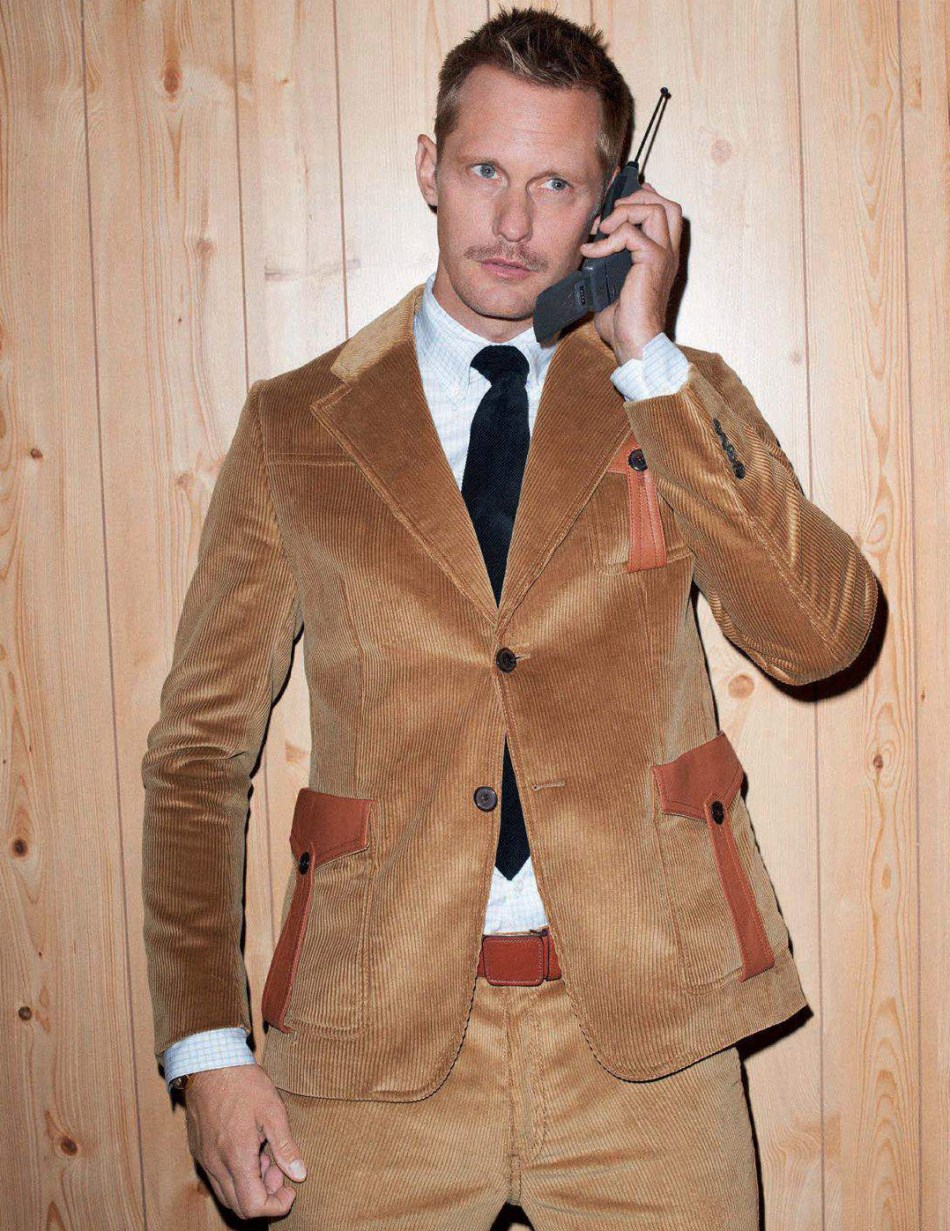 Alexander Skarsgård by Terry Richardson for GQ Style Germany AW177