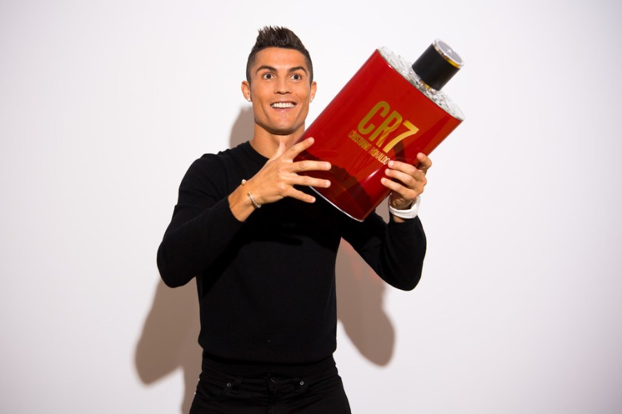 CR7 Cristiano Ronaldo Fragance Launch2