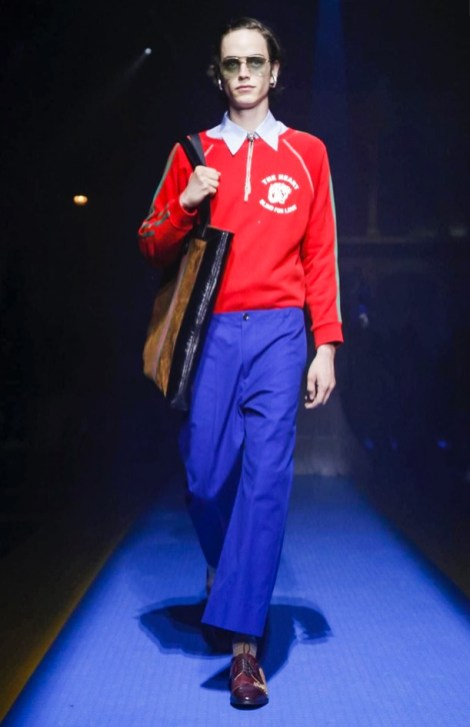 GUCCI READY TO WEAR SPRING SUMMER 2018 MILAN12