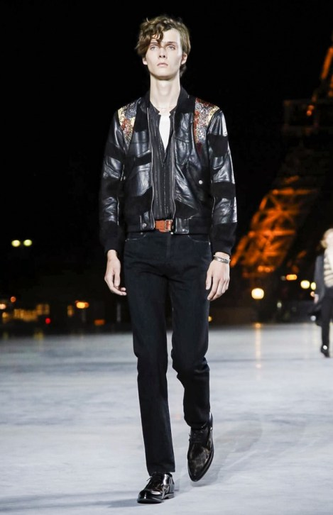 SAINT LAURENT READY TO WEAR SPRING SUMMER 2018 PARIS5