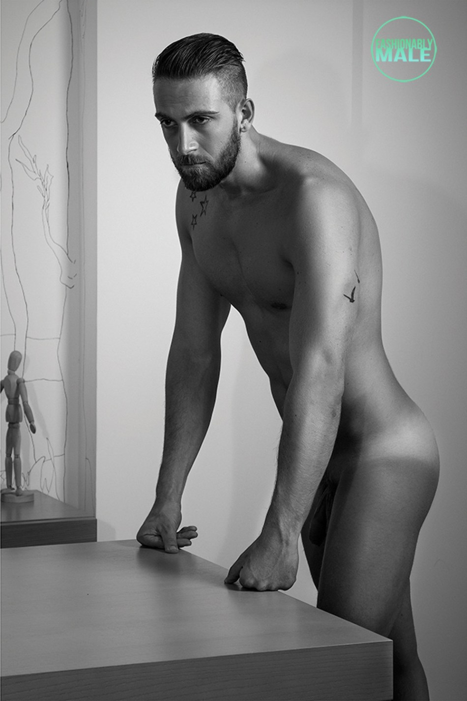 Steve Rogers by Alisson Marks for Fashionably Male13