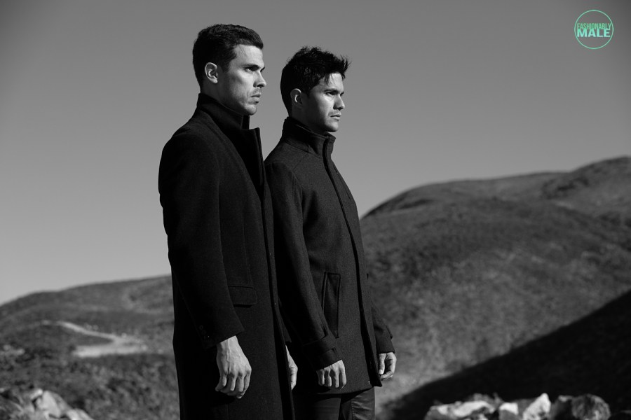 Augusto and Louis by Ivan Avila for Fashionably Male9