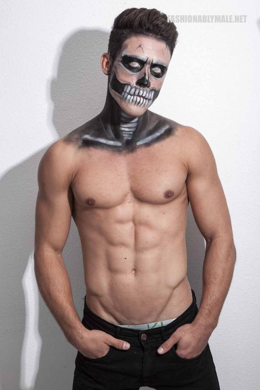 Halloween Skull Boy Borja by Jose Martinez1