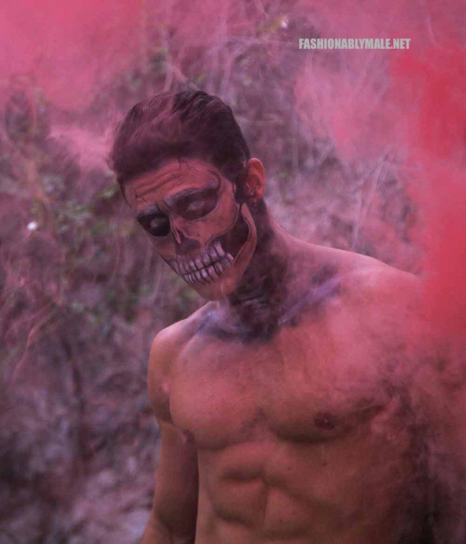 Halloween Skull Boy Borja by Jose Martinez12