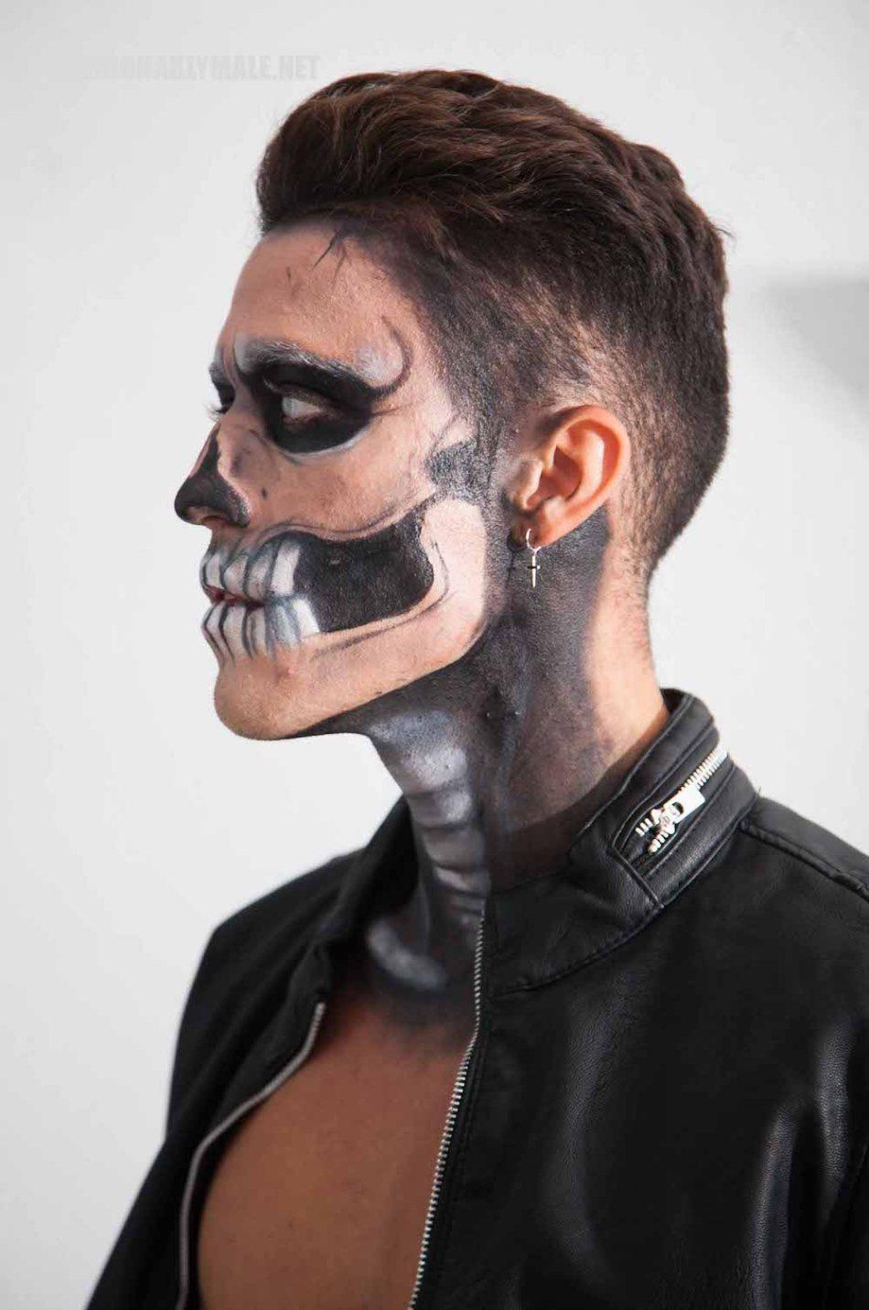 Halloween Skull Boy Borja by Jose Martinez5