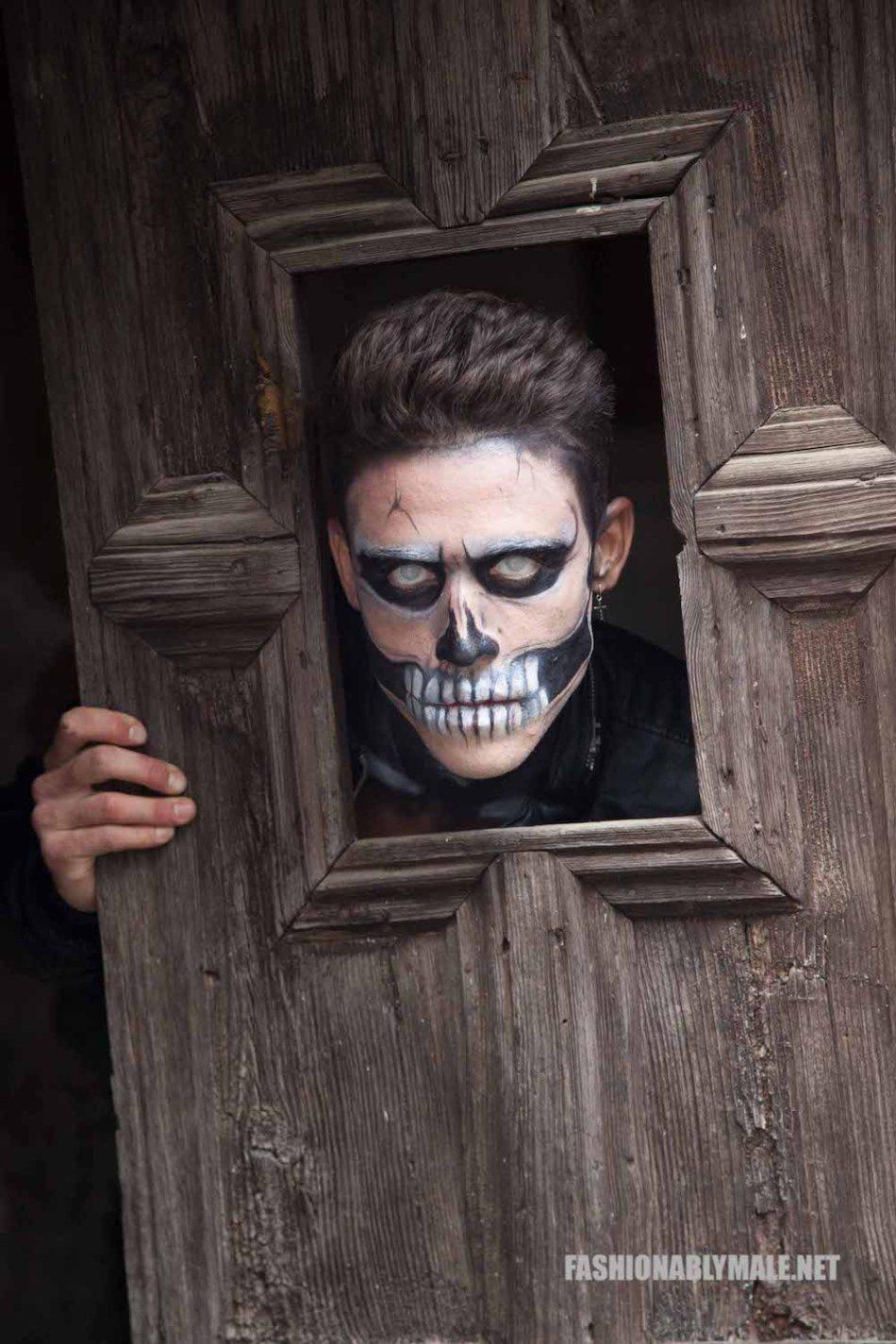 Halloween Skull Boy Borja by Jose Martinez9