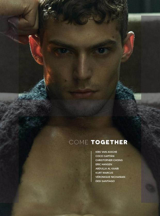 Jacob Hankin in H Magazine   FW174