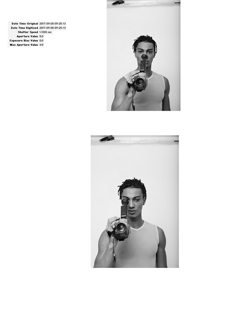 Onnys Aho by Baldovino Barani for FACTORY Fanzine2