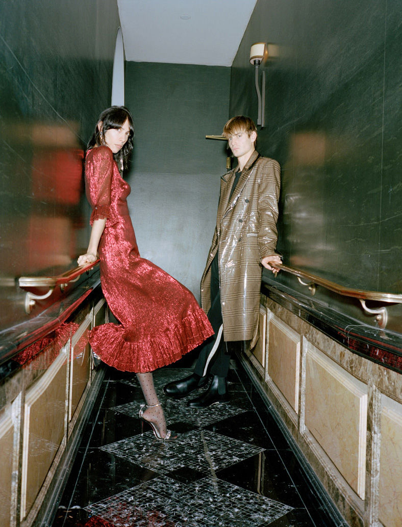 Ben Allen and Jamie Bochert by Peter Ash Lee for Browns Menswear9