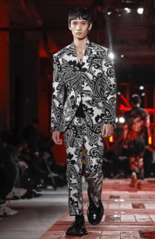 ALEXANDER MCQUEEN MENSWEAR FALL WINTER 2018 PARIS2