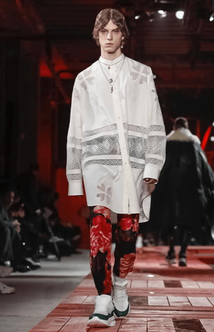ALEXANDER MCQUEEN MENSWEAR FALL WINTER 2018 PARIS25