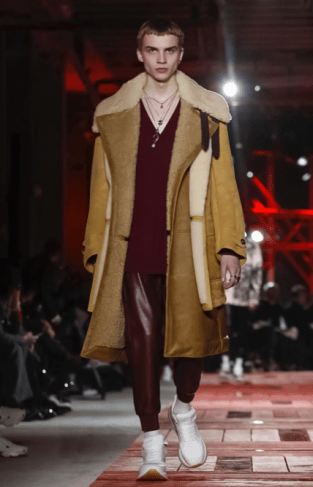 ALEXANDER MCQUEEN MENSWEAR FALL WINTER 2018 PARIS31