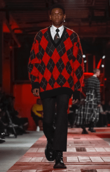 ALEXANDER MCQUEEN MENSWEAR FALL WINTER 2018 PARIS35