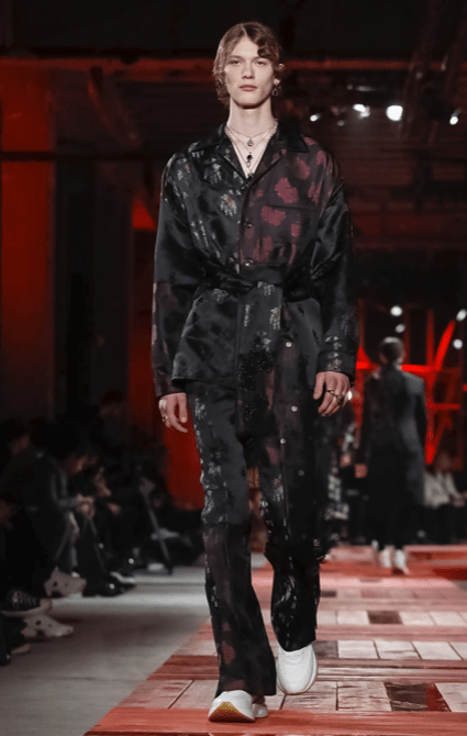 ALEXANDER MCQUEEN MENSWEAR FALL WINTER 2018 PARIS40