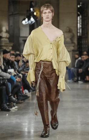 ANN DEMEULEMEESTER MENSWEAR FALL WINTER 2018 PARIS34