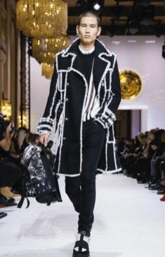 BALMAIN HOMME MENSWEAR FALL WINTER & WOMEN PREFALL 2018 PARIS25