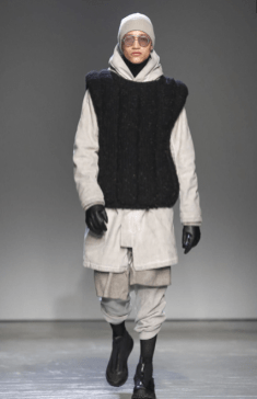 BORIS BIDJAN SABERI MENSWEAR FALL WINTER 2018 PARIS18