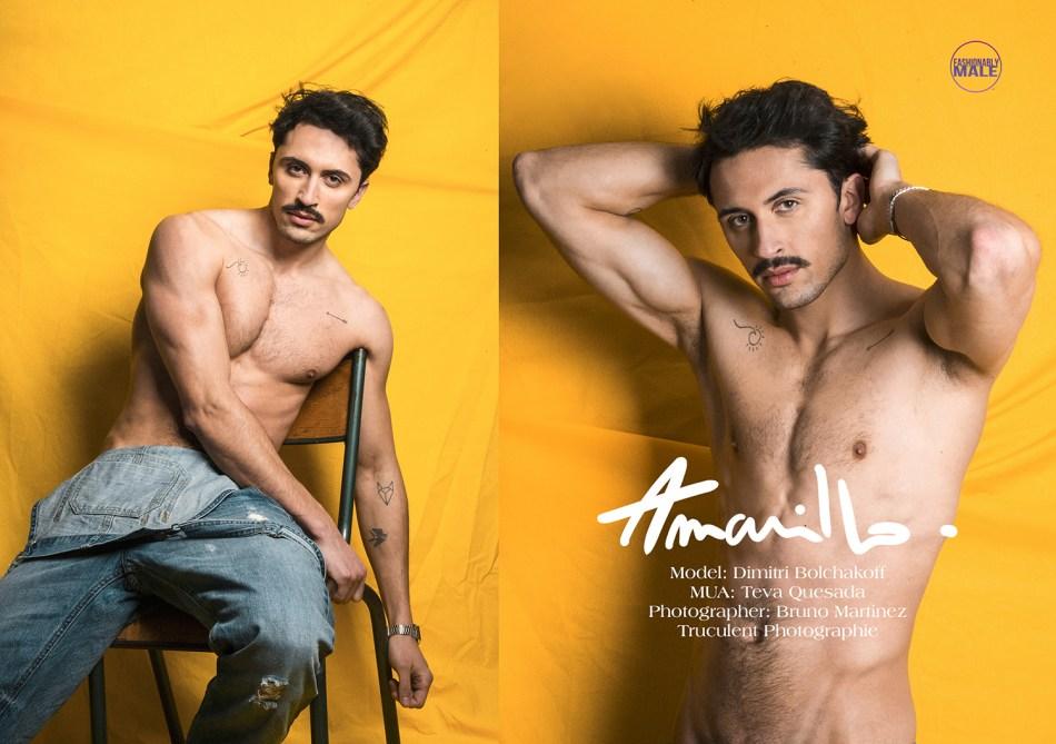 Dimitri by Bruno Martinez for Fashionably Male1