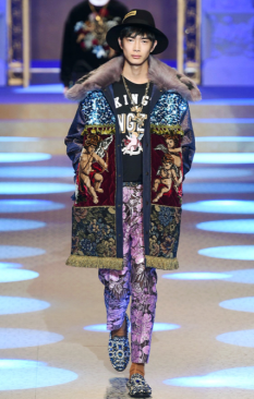 DOLCE & GABBANA MENSWEAR FALL WINTER 2018 MILAN25