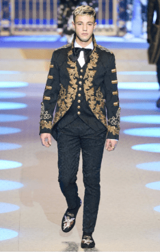 DOLCE & GABBANA MENSWEAR FALL WINTER 2018 MILAN30