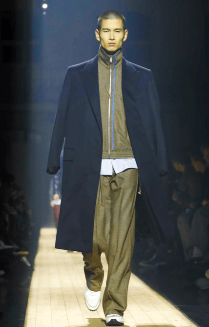 DUNHILL MENSWEAR FALL WINTER 2018 PARIS14