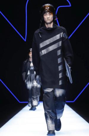 EMPORIO ARMANI MENSWEAR FALL WINTER 2018 MILAN19