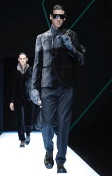 EMPORIO ARMANI MENSWEAR FALL WINTER 2018 MILAN4